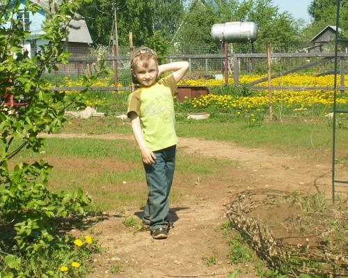 ребёнок в саду