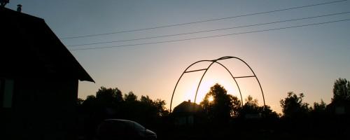 Солнце заходит